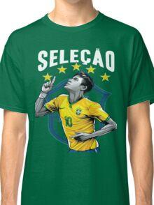 Neymar Brazil World Cup Shirt Classic T-Shirt