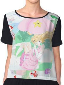 Nintendo Makin it rain! Chiffon Top