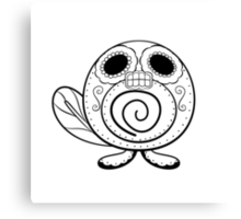 Poliwag de los Muertos | Pokemon & Day of The Dead Mashup Canvas Print