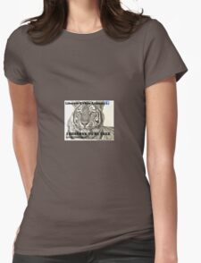 Liberate GVZoo Animals Tiger Womens Fitted T-Shirt