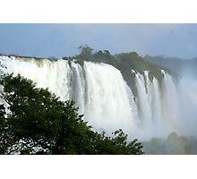 Iguassu Falls up close Photographic Print