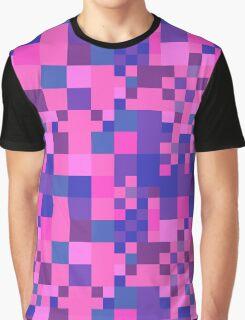 Pixel One - Neon Error Graphic T-Shirt