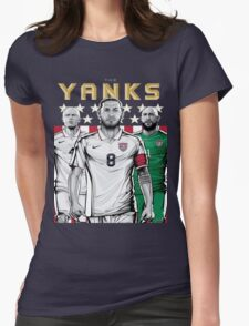 Yanks USA World Cup Shirt Womens Fitted T-Shirt