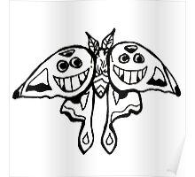 grinwing moth Poster