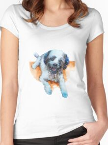 DOG#17 Women's Fitted Scoop T-Shirt