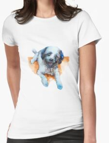 DOG#17 Womens Fitted T-Shirt
