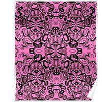 Miniature Aussie Tangle 13 Pattern Coloured Options Poster