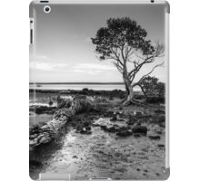 Tenby Point - Mangrove Sunset Black and White iPad Case/Skin