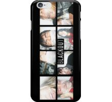 The BLACKOUT Polaroid Room iPhone Case/Skin