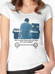 Bo Burnham Are You Happy? Women's Fitted Scoop T-Shirt