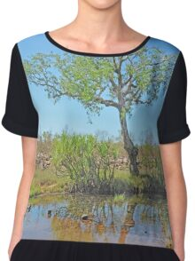 Tree in the Wilderness Chiffon Top