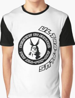 Training to use the one for all !!! Graphic T-Shirt