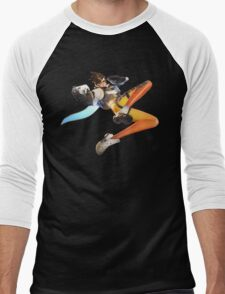 Overwatch - Tracer Stance Men's Baseball ¾ T-Shirt