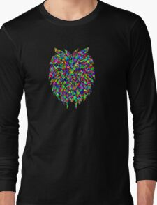 A lion sleeps in the heart of every brave man !! Long Sleeve T-Shirt