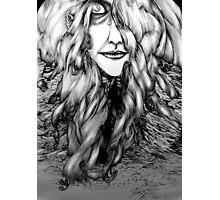 Hair-Mountain 1 Photographic Print