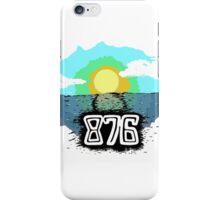 876 iPhone Case/Skin
