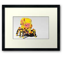 Flea Bot (full image) Framed Print