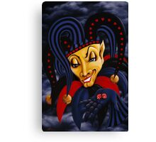The Trickster!...  Canvas Print