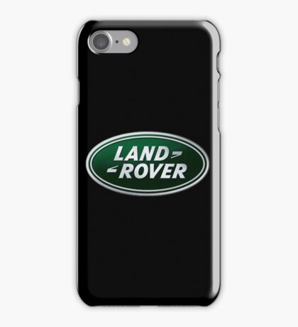 LAND ROVER LOGO iPhone Case/Skin