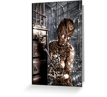 Steampunk Painting 001 Greeting Card