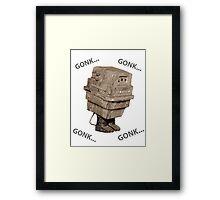Gonk Droid/Power Droid Framed Print
