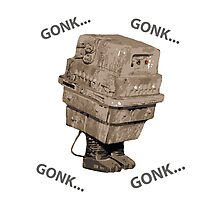 Gonk Droid/Power Droid Photographic Print