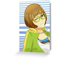 Chie Chan Greeting Card