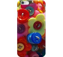 Button flower bouquet iPhone Case/Skin