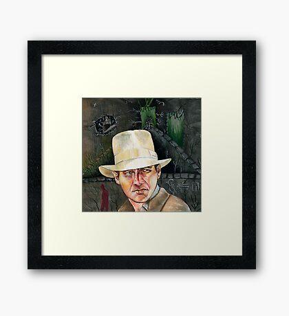 Indiana Jones. Framed Print