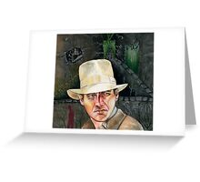 Indiana Jones. Greeting Card