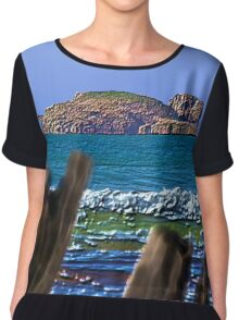GALLIMAUFRY ~ Beyond The Wreck by tasmanianartist Chiffon Top