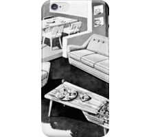 50's Interior iPhone Case/Skin