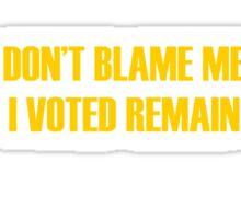eu union t shirt  Sticker