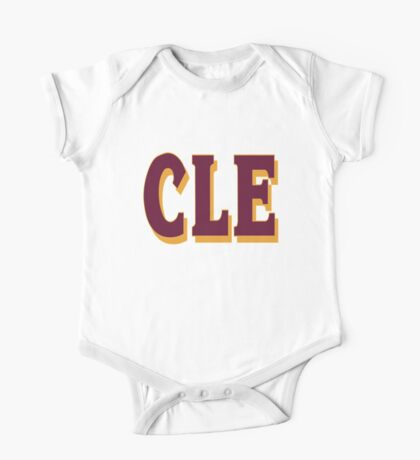 cleveland final 2016 - CLE One Piece - Short Sleeve