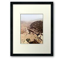 Jordan Petra Framed Print
