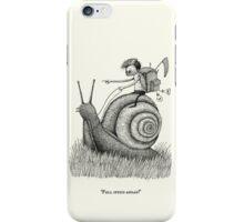 Full Speed Ahead! iPhone Case/Skin
