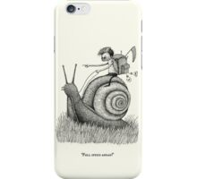 Full Speed Ahead! iPhone Case/Skin