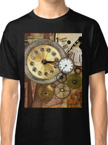 Clocks Rusty Old Steampunk Art Classic T-Shirt