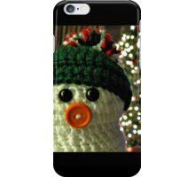 Crafty Snowman iPhone Case/Skin