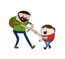 Joel and Ellie - Adventure Time Photographic Print