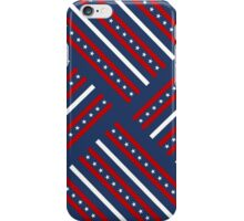 USA America United States Flag Stars Stripes Patriotic Pattern iPhone Case/Skin