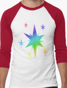 MLP - Cutie Mark Rainbow Special - Twilight Sparkle Men's Baseball ¾ T-Shirt