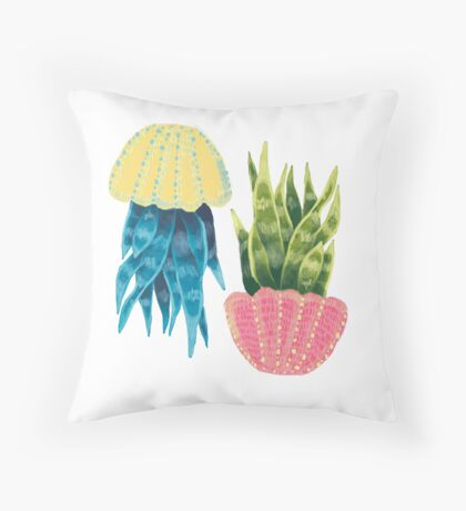 Mother-In-Law's Tongue Throw Pillow