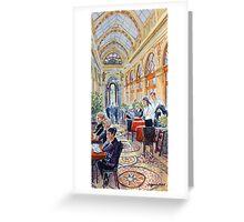 Galerie Vivienne, Paris Greeting Card