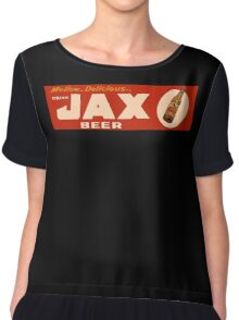 JAX BEER OF NEW ORLEANS Chiffon Top