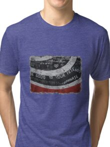 Elliott Smith Wall Tri-blend T-Shirt