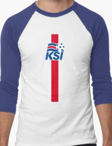 Iceland national football team Men's Baseball ¾ T-Shirt
