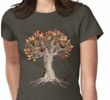 Little Visitors Womens Fitted T-Shirt