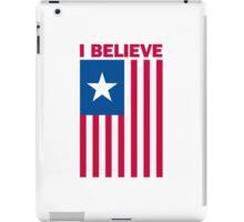 I Believe That We Will Win iPad Case/Skin