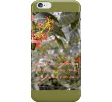 I love you more today than yesterday iPhone Case/Skin